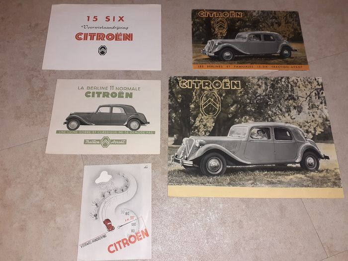 Folletos/catálogos - Traction Avant - Citroën - 1950-1960