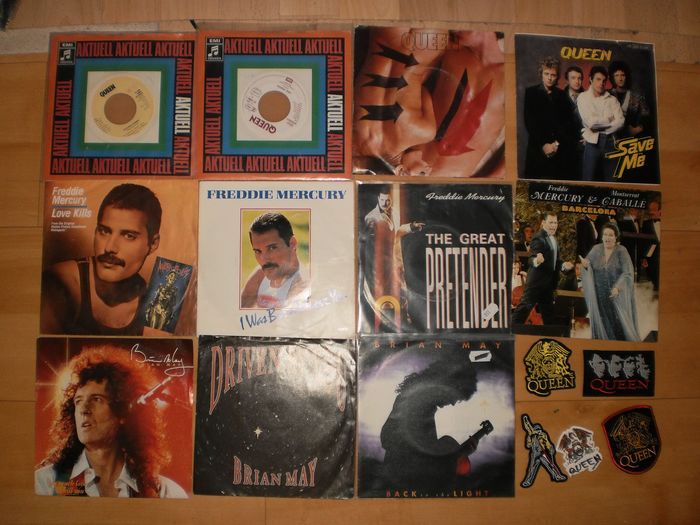 Queen & Related - Multiple titles - 45 rpm Single - 1980/1992