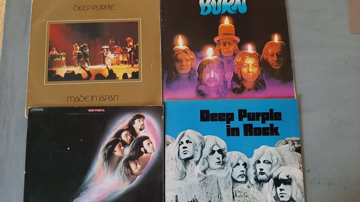 Deep Purple - Multiple titles - LP's - 1970/1974