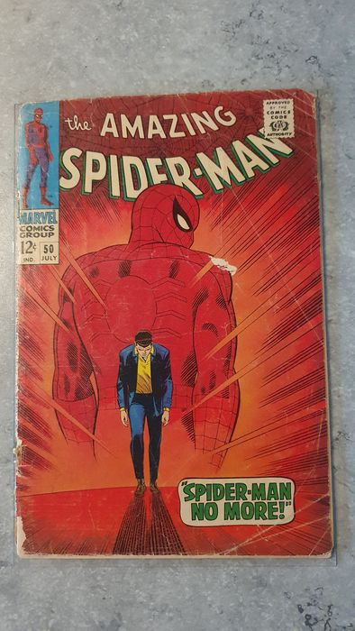 Amazing Spider-Man #50 - KEY BOOK-FIRST APPEARANCE KINGPIN! - Softcover - Erstausgabe - (1967)
