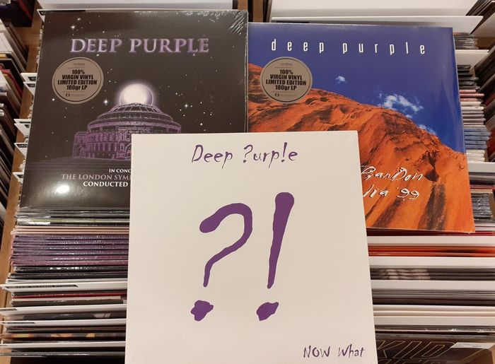 Deep Purple - Multiple artists - Total Abandon - Australia '99,  Now What?!,  With The London Symhony Orchestra || Mint & Sealed - Multiple titles - 2xLP Album (double album), 3xLP Album (Triple album), LP Album, LP's - 2013/2019