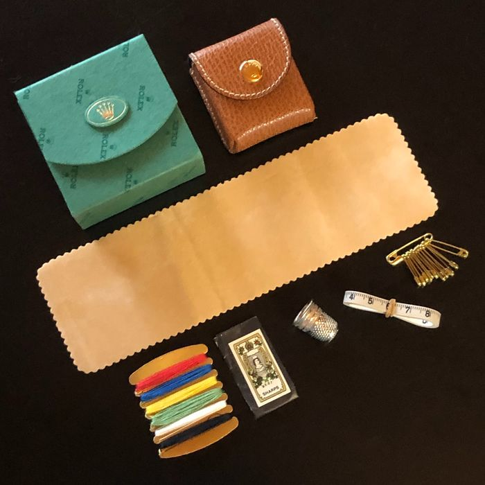 "Rolex - ""NO RESERVE PRICE"" Sewing Kit - NEW - Outside Box and Leather Travel Box - Victorinox - Unisex - 2000-2010"