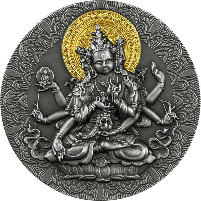 "Kameroen. 2000 Francs - 2020 - ""ANCIENT BUDDHA"" - 2 Oz"