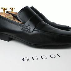 Gucci - Calf Leather - Mocassini - Taglia: Scarpe / EU 43