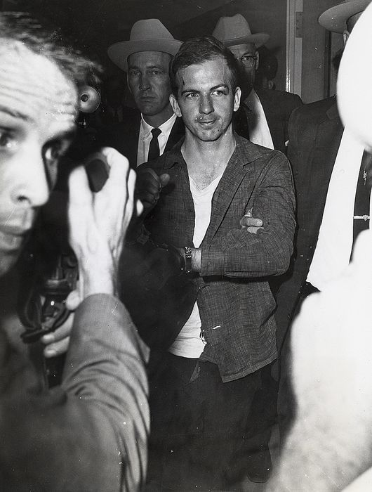 Unknown/Wide World Photos - Lee Harvey Oswald in Custody, 1963