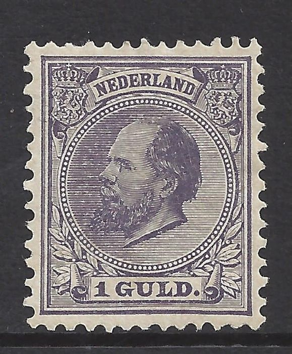 Netherlands 1888 - King Willem III - NVPH 28