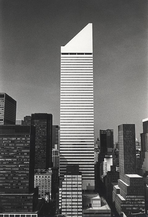 Wolfgang Volz (1948-) - Citicorp Center, New York City, c.1990