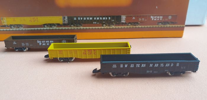 Märklin Z - 8206 - Freight wagon set - 3 parts - various US