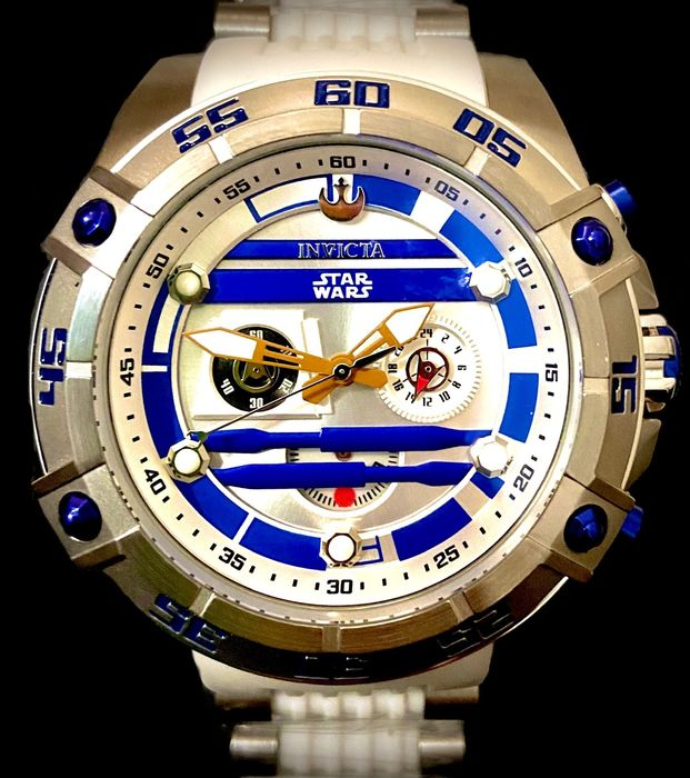 Star Wars - R2-D2 - Invicta - Watch - Stainless Steel - limited edition - with original box
