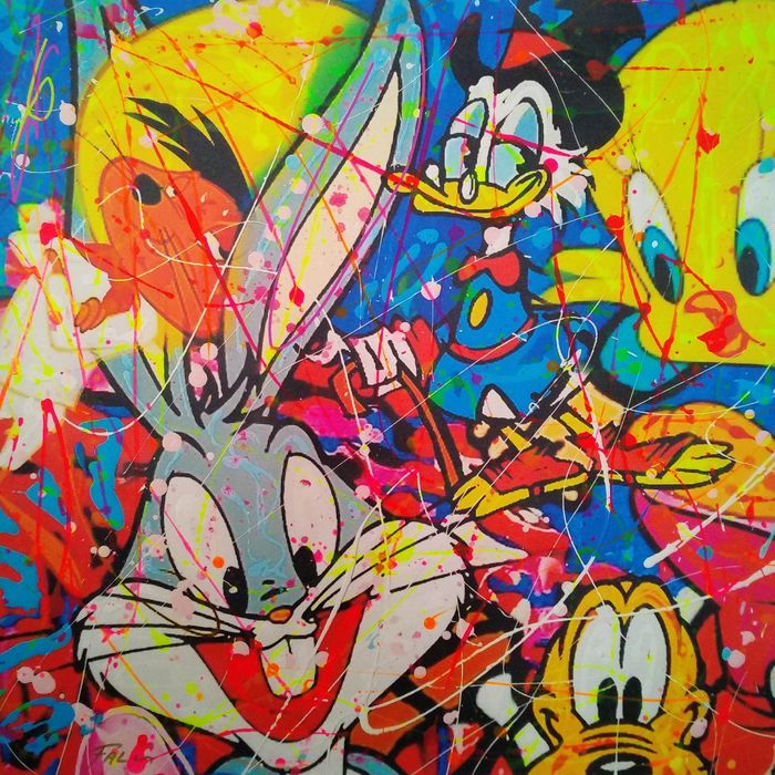 Joaquim Falco (1958) - Bugs Bunny and his friends