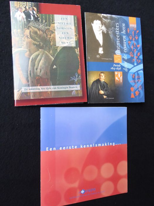 Netherlands. eerste 2 HCF sets en kennismaking set Euro. 2002 en 2003