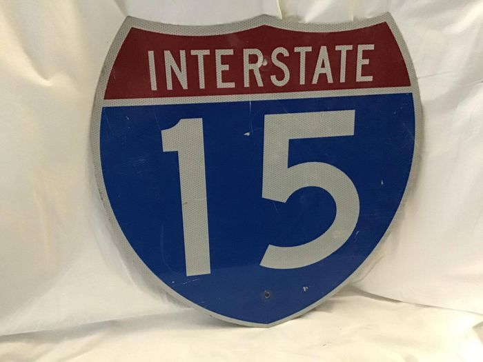 Señal - Interstate 15 sign - Interstate 15 - 1990-2000