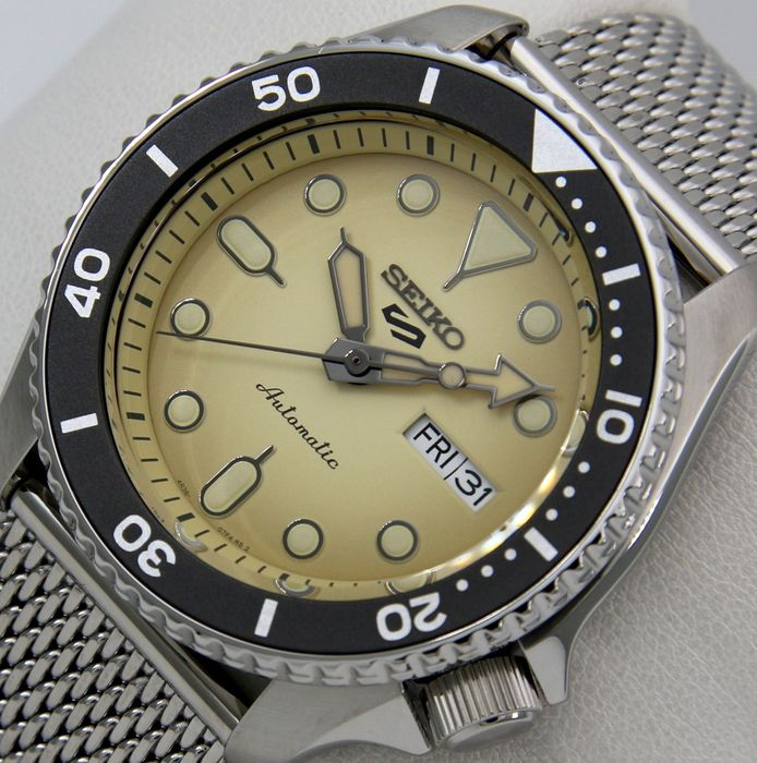 """Seiko - """"NO RESERVE PRICE"""" - 24 Jewels """"Beige Dial"""" - - - Homme - 2011-aujourd'hui"""