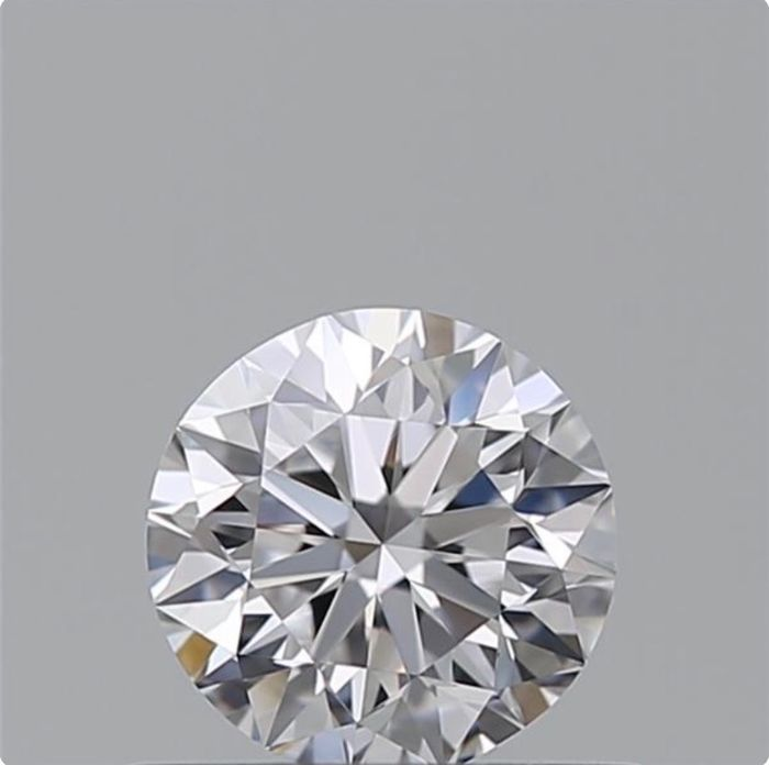 1 pcs Diamante - 1.00 ct - Brillante - D (incolore) - VVS1