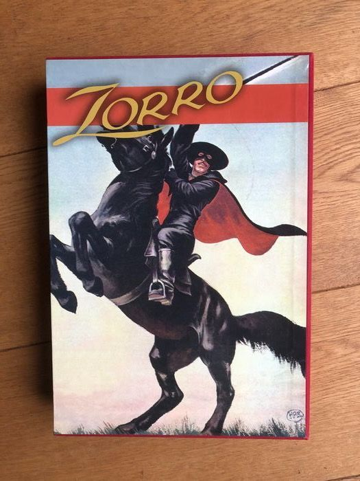 Zorro - 3 delen in box - Inbunden - (2005)