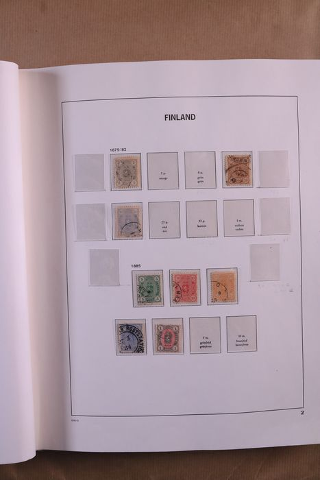 Finland 1875/1993 - Collection in a DAVO luxury pre-printed album