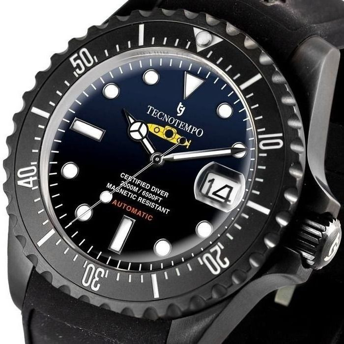 """Tecnotempo - - NO RESERVE PRICE - Diver 2000M / 6500FT """"Special Submarine Edition"""" - LIMITED EDITION - - TT.2000.SGB (Blue/Black Dial) - Herren - 2011-heute"""