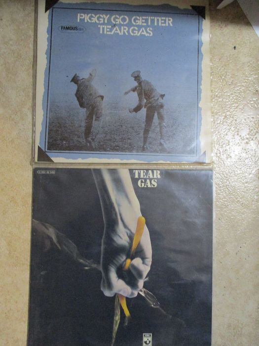 Tear Gas - Rare, Great Prog Rock / Hard Rock - Multiple titles - LP's - 1970/1971