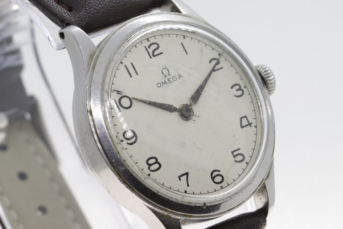 """Omega - Military """"US Army"""" civilian version Cal 30T2SC - """"NO RESERVE PRICE"""" - 2179/5 - Homme - 1901-1949"""