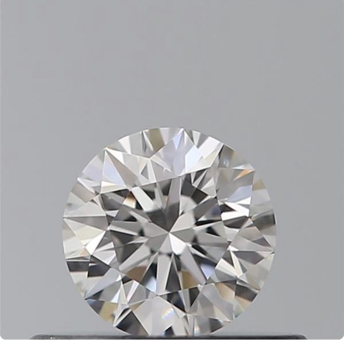 1 pcs Diamante - 0.30 ct - Brillante - E - IF (Inmaculado)