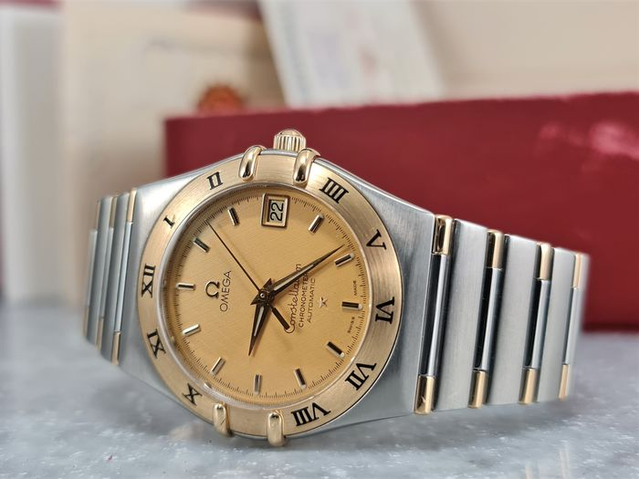 Omega - Omega Constellation Automatic Staal Goud 36MM - 2003 - 13021000 - Homme - 2000-2010