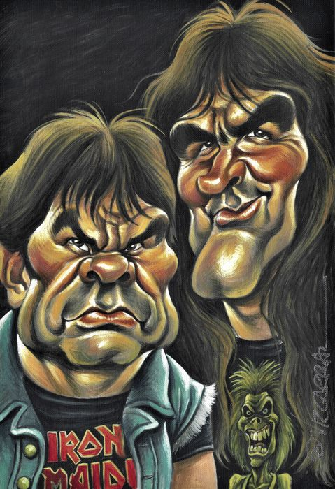 Iron Maiden - Artwork/ Painting - 2020/2020