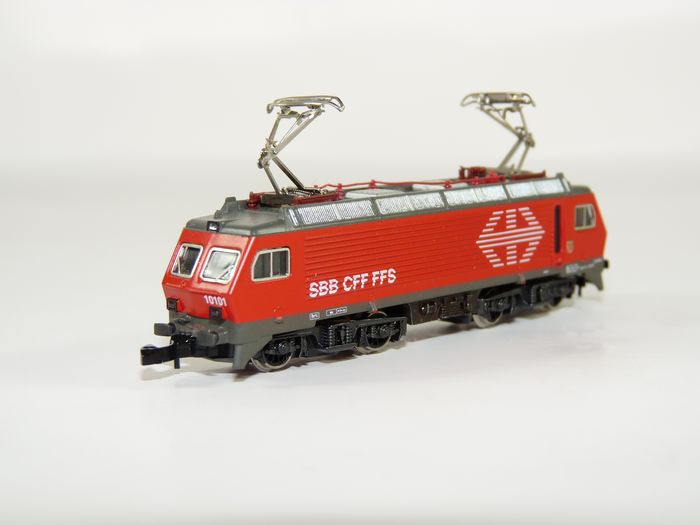 Märklin Z - 8846 - Electric locomotive - Re 4/4 - SBB CFF FFS
