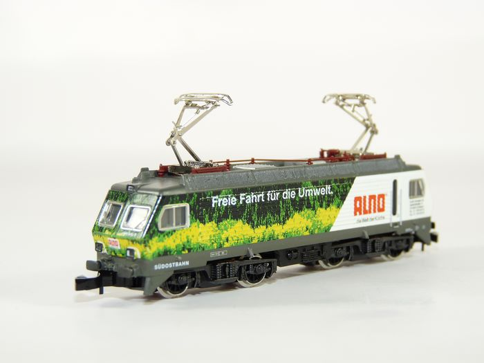 "Märklin H0 - 88475 - Electric locomotive - Series 446 ""Südostbahn"", ""ALNO"" - SBB"