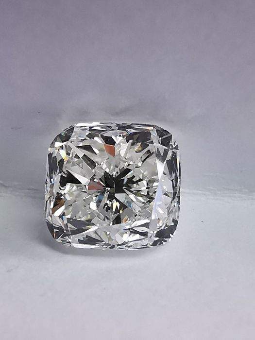 1 pcs Diamante - 1.51 ct - Cojín - G - SI1