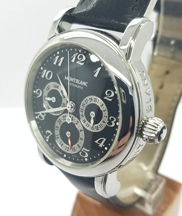Montblanc - Meisterstück Dual Time day-date - 7018 - Homme - 2011-aujourd'hui