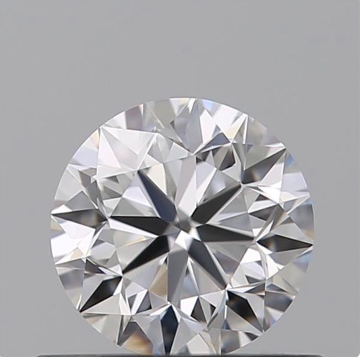 1 pcs Diamante - 0.50 ct - Brillante - D (incoloro) - VVS1