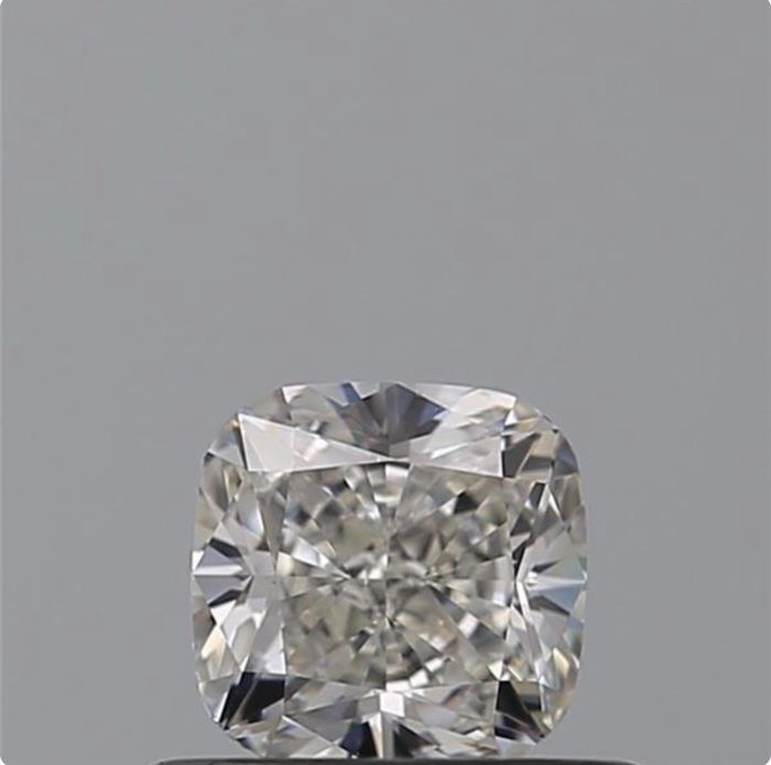1 pcs Diamante - 0.51 ct - Cojín - D (incoloro) - VVS1