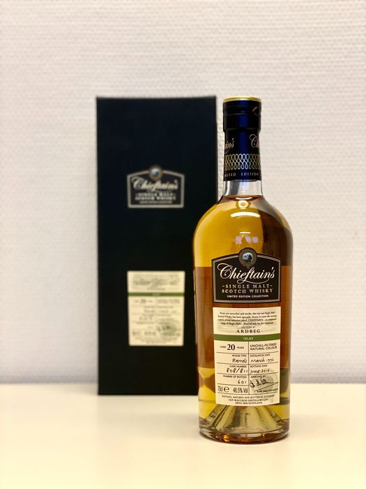 Ardbeg 1996 20 years old Chieftains - Ian MacLeod - 70cl