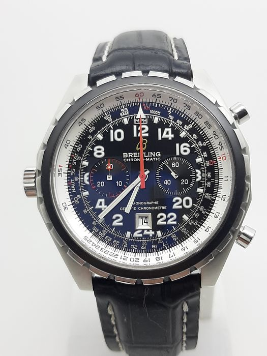 Breitling - Chrono-Matic - Limited Edition 1000 pcs - Ref. A22360 - Homme - 1990-1999