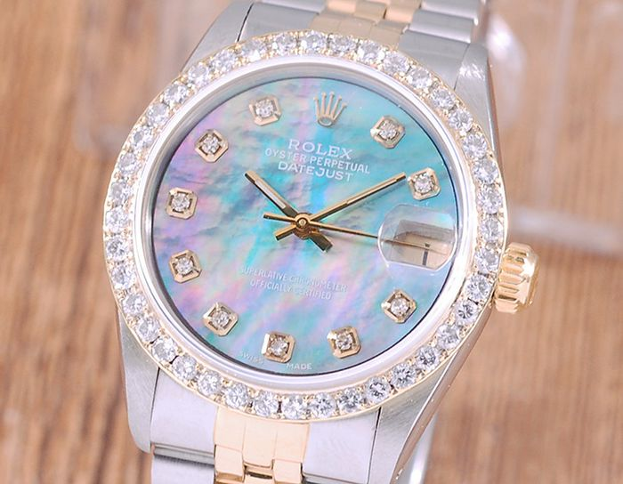 Rolex - Oyster Perpetual Datejust - 68273 - Femme - 1990-1999