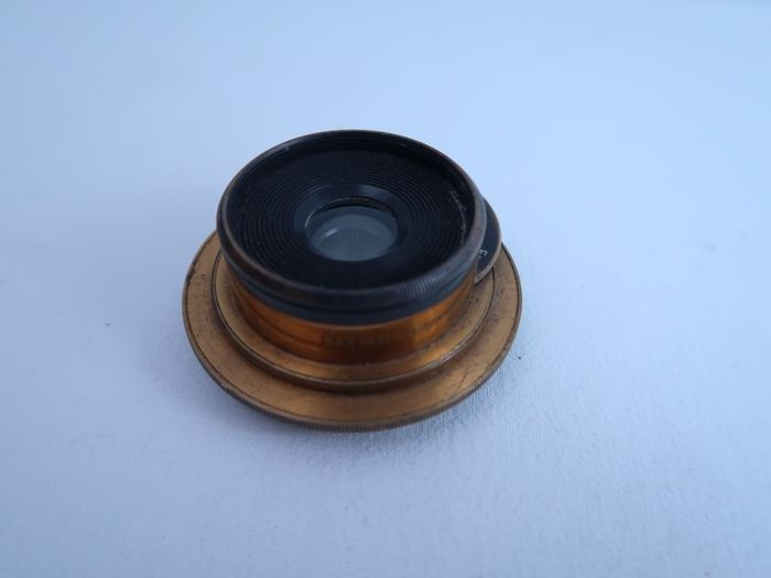 Henry Crouch 4 inches wide angle brass lens