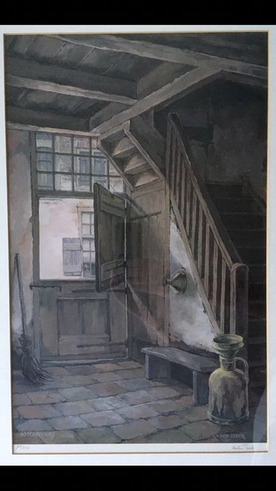 Anton Pieck - Amersfoort Litho door Anton Pieck