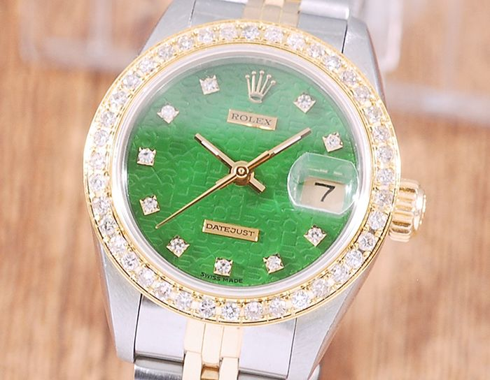 Rolex - Oyster Perpetual Datejust - 69173 - Femme - 1990-1999