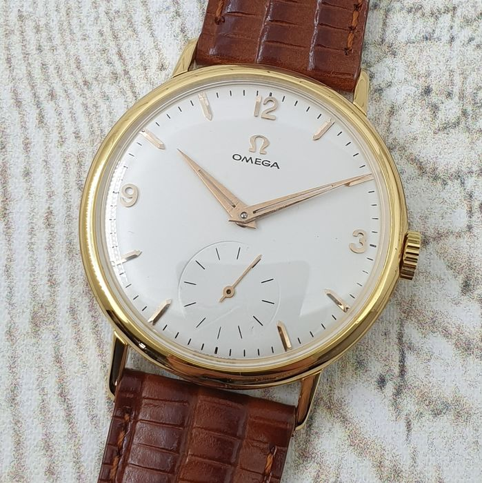 "Omega - Cal. 267 - ""NO RESERVE PRICE"" - 121.002-63 - Homme - Ano 1958"