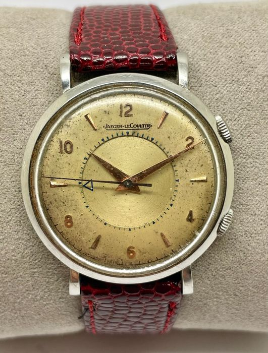 """Jaeger-LeCoultre - Memovox - """"NO RESERVE  PRICE"""" - Homme - 1950-1959"""