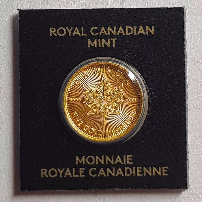 Canada. 50 Cents 2020 - Royal Canadian Mint - MapleGram, Sealed and Numbered, Maple Leaf