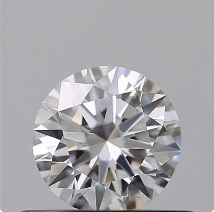 1 pcs Diamante - 0.38 ct - Brillante - D (incoloro) - IF (Inmaculado), *3Ex*