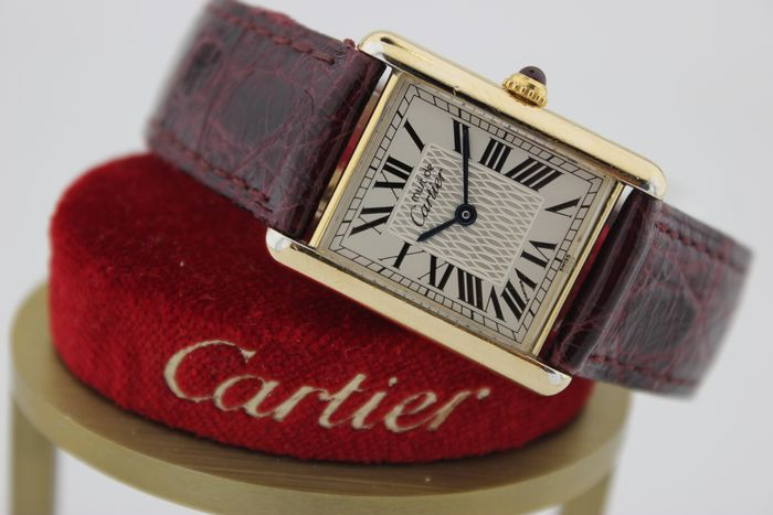 Cartier - Tank Must de Cartier 'L.C'  Limited Edition 1847 pcs - Ref. 0427/1847 - Homme - 1990-1999