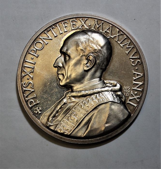 Italy, Papal State. Pio XII (1939-1958). Medaglia 1949 anno XI