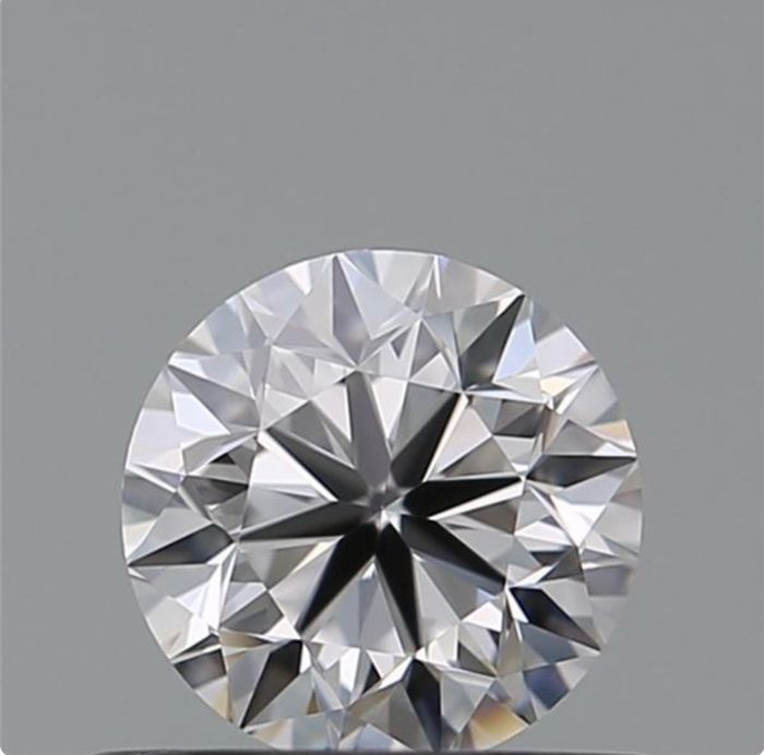 1 pcs Diamante - 1.00 ct - Brillante - D (incoloro) - VVS1