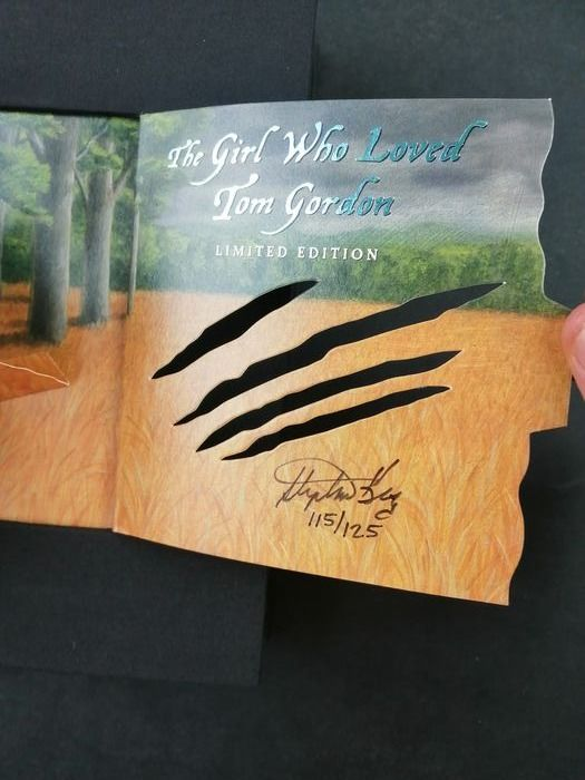 The Girl who Loved Tom Gordon - Limited edition - Firmata - Softcover - Eerste druk - (2004)