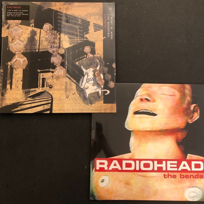 Radiohead - The Bend and I Might Be Wrong - Live Recordings - Diverse Titel - LP Album - 2016/2016