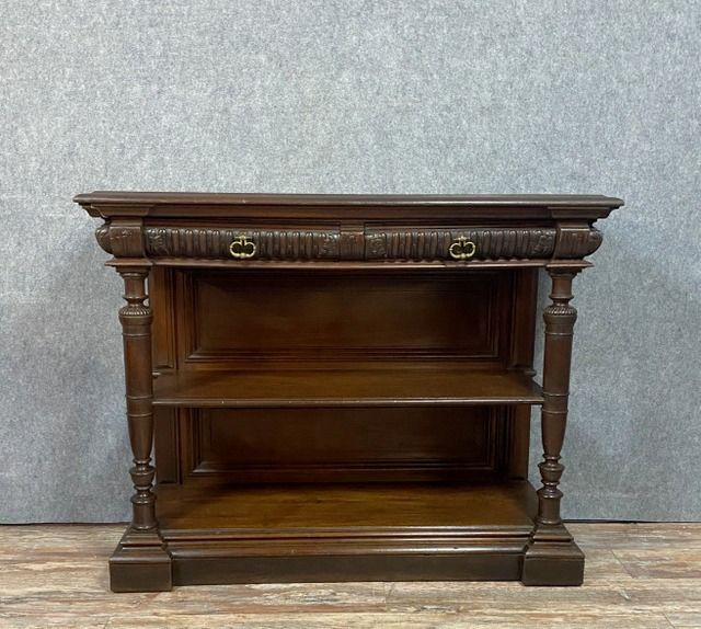 Very nice hunting lodge service - Historicism - Marble, Walnut - Mid 19th century