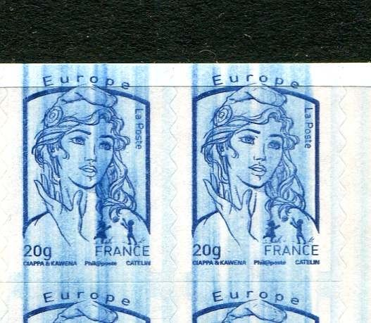 France - Huge variety, wiping, Ciappa booklet 852C1 - Yvert C852C1