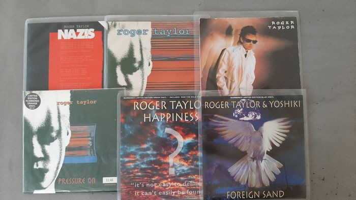 Queen & Related - Roger Taylor solo singles - Multiple titles - 45 rpm Single - 1984/1999